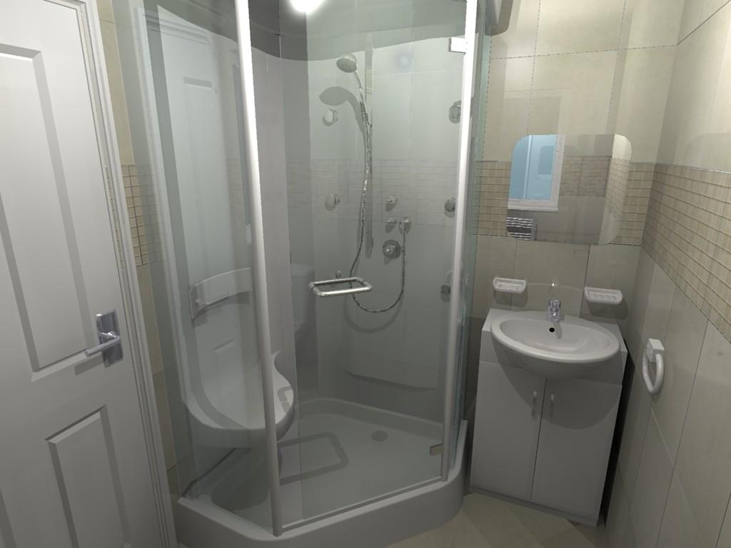 hexigon shower