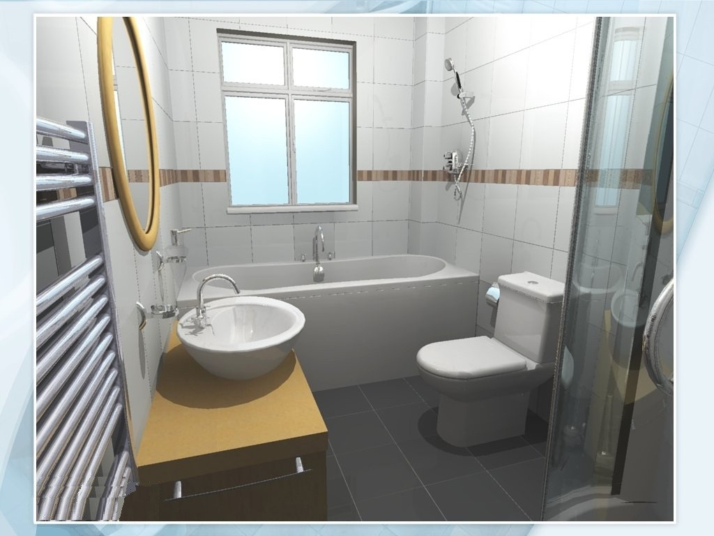 3D Bathroom Design Ideas