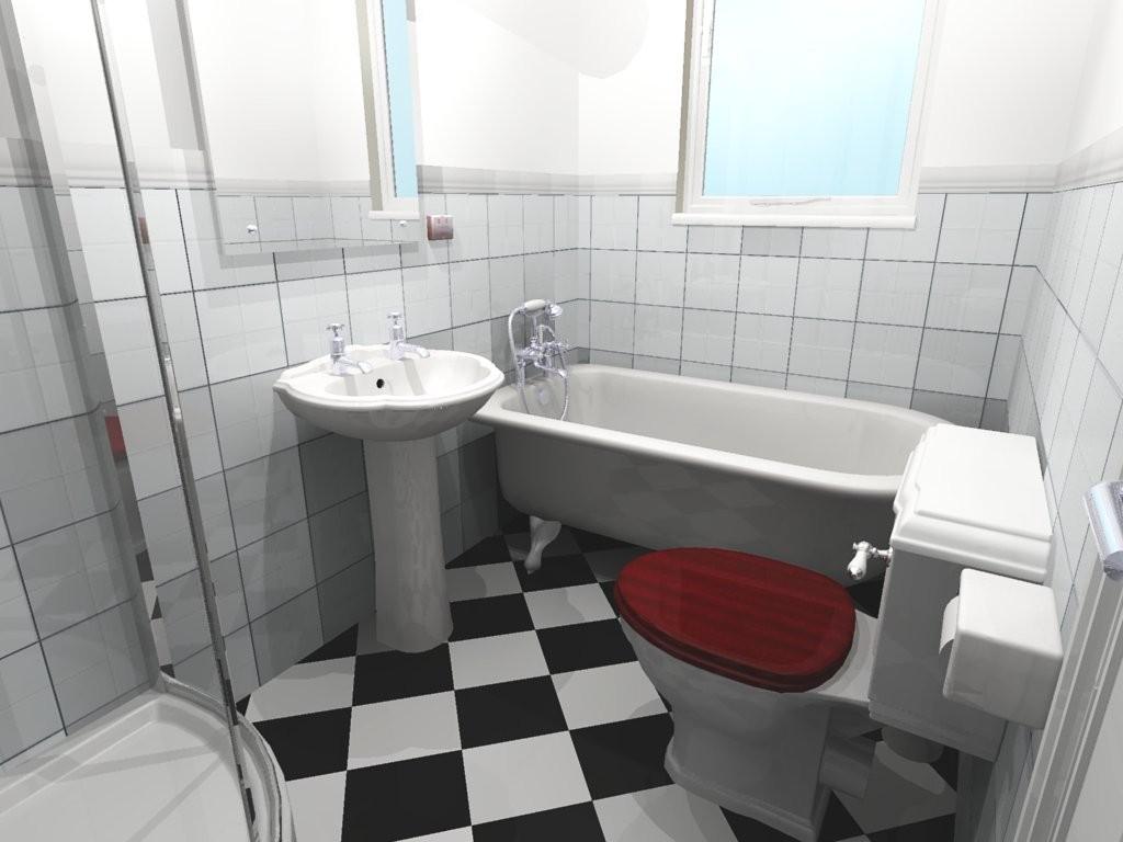 old style bath